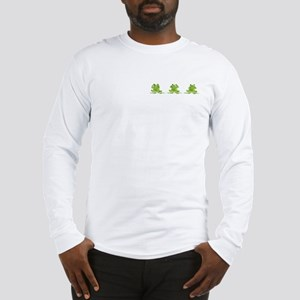 3 Frogs! Long Sleeve T-Shirt