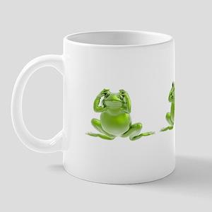 3 Frogs! Mug