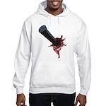 Halloween Costume with Scar Hooded Sweatshirt