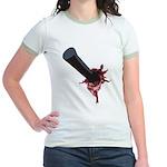 Halloween Costume with Scar Jr. Ringer T-Shirt