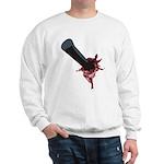 Halloween Costume with Scar Sweatshirt