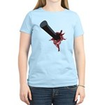 Halloween Costume with Scar Women's Light T-Shirt