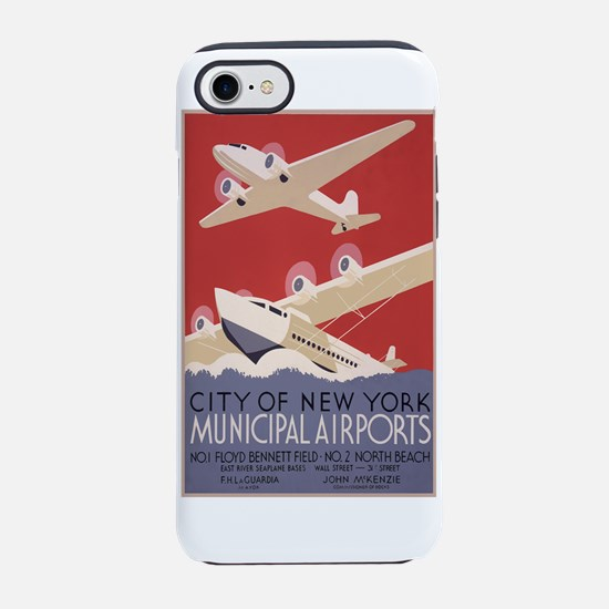New York Airport iPhone 7 Tough Case