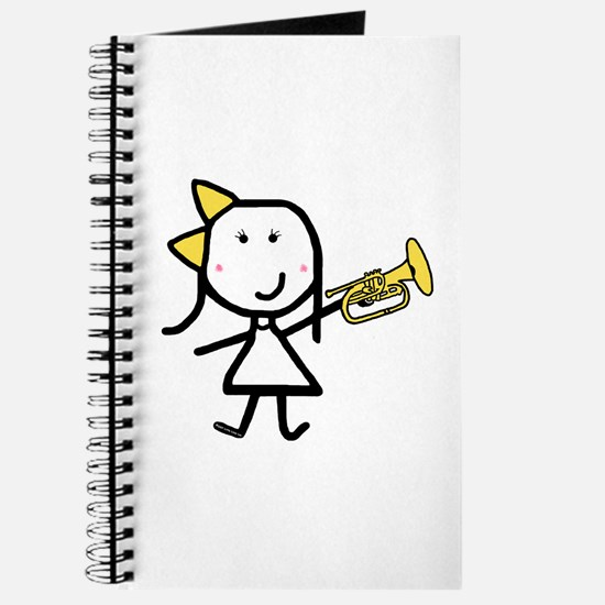 Girl & Mellophone Journal