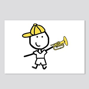 Boy & Mellophone Postcards (Package of 8)