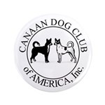 """Canaan Dog Club of America Lo 3.5"""" Button"""