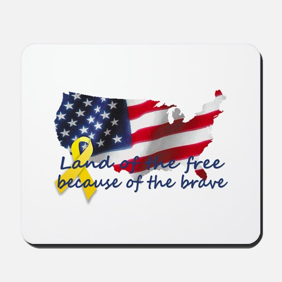 Land of the free ... Mousepad