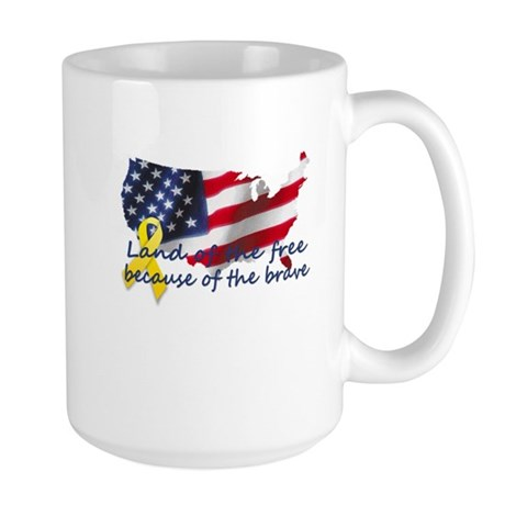 Land of the free ... Large Mug