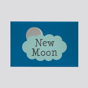 Twilight New Moon Rectangle Magnet
