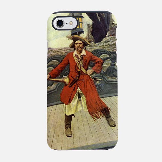 Pirate Captain Keitt iPhone 7 Tough Case