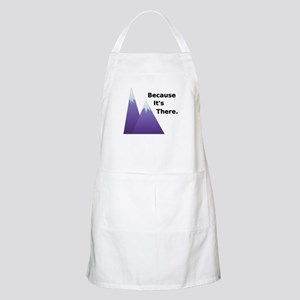 Because It's There BBQ Apron