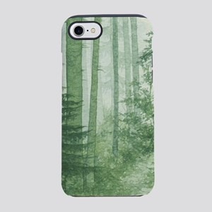 Green Misty Forest iPhone 7 Tough Case