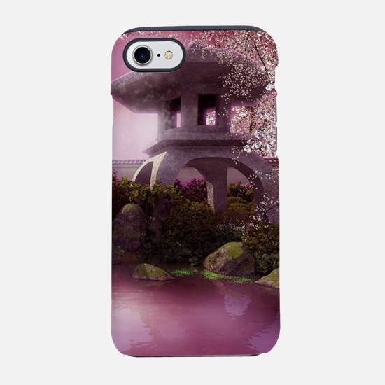 Oriental Garden iPhone 7 Tough Case