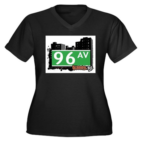 96 AVENUE, QUEENS, NYC Women's Plus Size V-Neck Da
