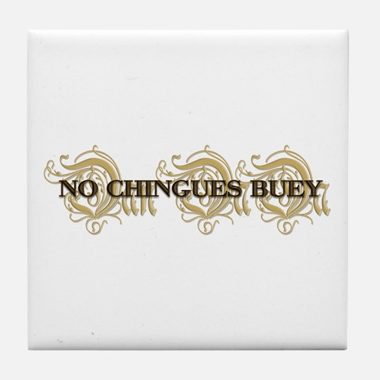 No Chingues Buey: Tile Coaster