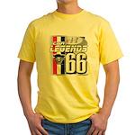 1966 Musclecars Yellow T-Shirt