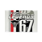 1967 Musclecars Rectangle Magnet (100 pack)