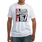 1967 Musclecars Fitted T-Shirt