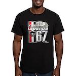 1967 Musclecars Men's Fitted T-Shirt (dark)