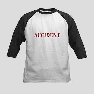 """Accident"" Kids Baseball Jersey"