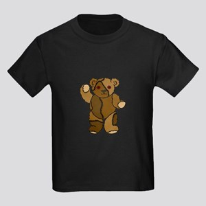 """Stitches the Bear"" Kids Dark T-Shirt"