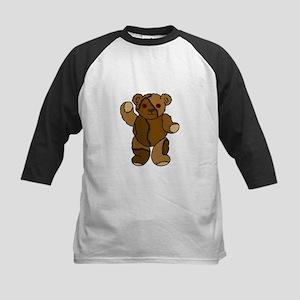 """""""Stitches the Bear"""" Kids Baseball Jersey"""