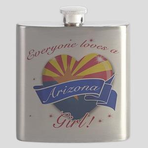 arizona. girl png Flask