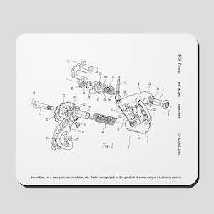 Invention Rear Derailleur Mouse Pad