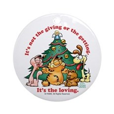 It's The Loving Ornament (Round)