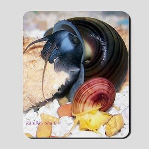 Snail Face Shot Mousepad