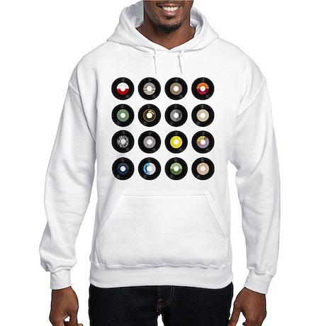 Records Hooded Sweatshirt