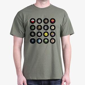 Records Dark T-Shirt