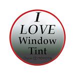 """Dark Window Tint 3.5"""" Button (100 pack)"""