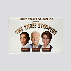 The Three Stoopids Rectangle Magnet