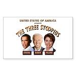 The Three Stoopids Rectangle Sticker 10 pk)