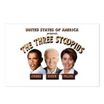 The Three Stoopids Postcards (Package of 8)