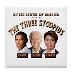 The Three Stoopids Tile Coaster