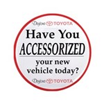 """ACCESSORIES 3.5"""" Button (100 pack)"""