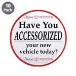 """ACCESSORIES 3.5"""" Button (10 pack)"""