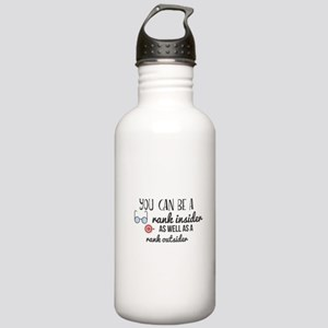 You can be a rank insi Stainless Water Bottle 1.0L