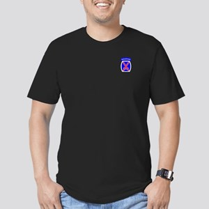 10th Mountain Division Men's Fitted T-Shirt (dark)