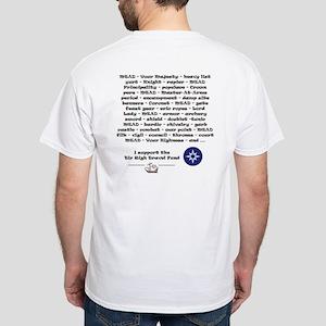 White T-Shirt - I Speak SCADIAN