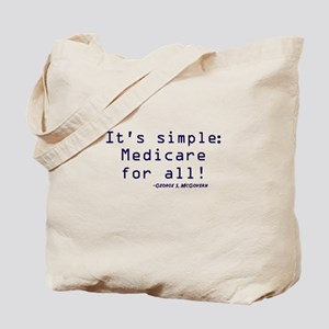 It's Simple, Medicare for All Tote Bag