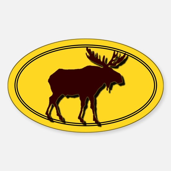 Moose Silhouette Decal