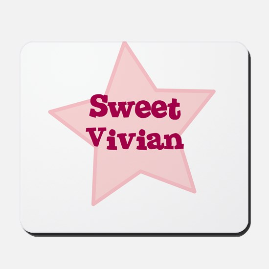 Sweet Vivian Mousepad