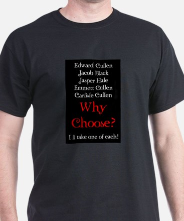 Why Choose? Red T-Shirt