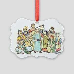 Joseph Picture Ornament