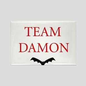 Team Damon Bat Rectangle Magnet