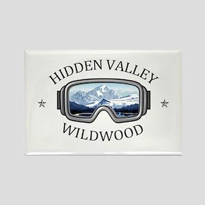 Hidden Valley Ski Area - Wildwood - Miss Magnets