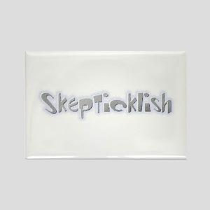 Skepticklish Rectangle Magnet